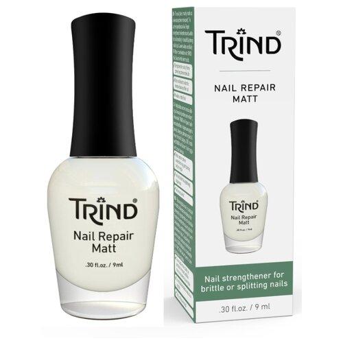 Лак Trind Nail Repair Matt, 9 мл