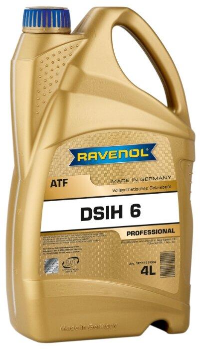 Трансмиссионное масло Ravenol ATF DSIH 6