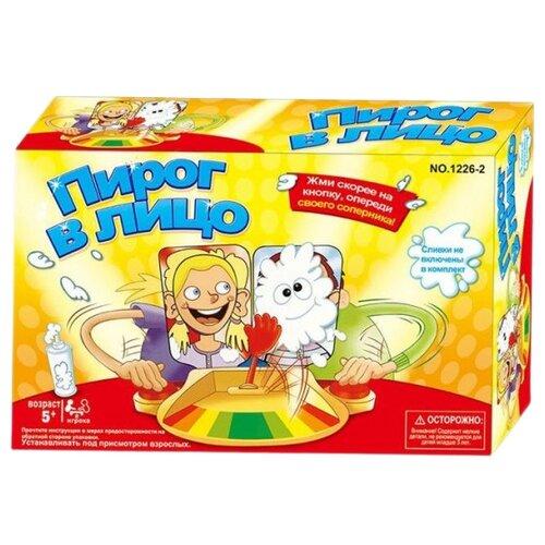 Купить Настольная игра Наша игрушка Пирог в лицо, Настольные игры