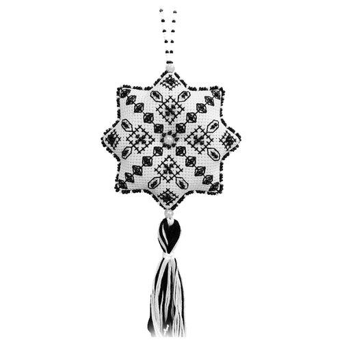 ZENGANA Набор для вышивания бисером и нитками Путеводная звезда 9 х 9 см (М-096)
