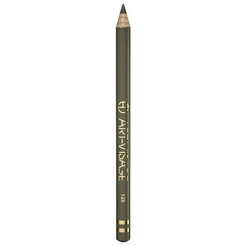 ART-VISAGE Карандаш для глаз Классический, оттенок 125 темная ель