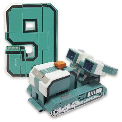 Купить Трансформер 1 TOY Трансботы XL Боевой расчет - 9 - Дефендер голубой, Роботы и трансформеры