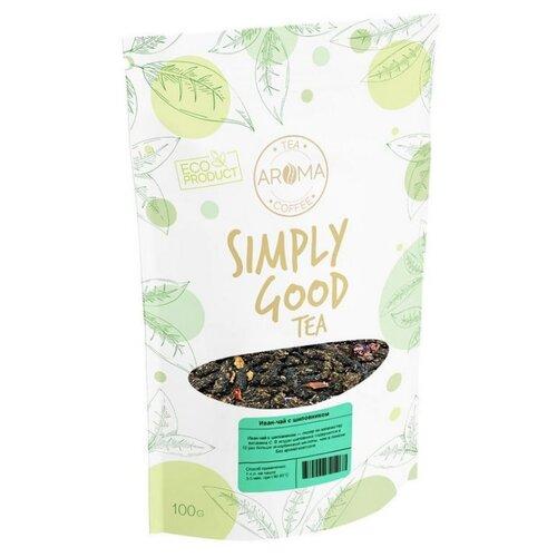 Чай травяной Aroma Иван-чай с шиповником, 100 г чай травяной aroma иван чай с ягодами и листом черной смородины 100 г