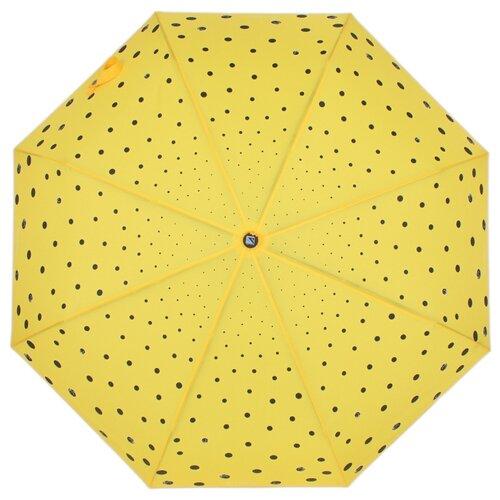 Зонт автомат FLIORAJ Кошки и точки желтый зонт автомат labbra зонт автомат
