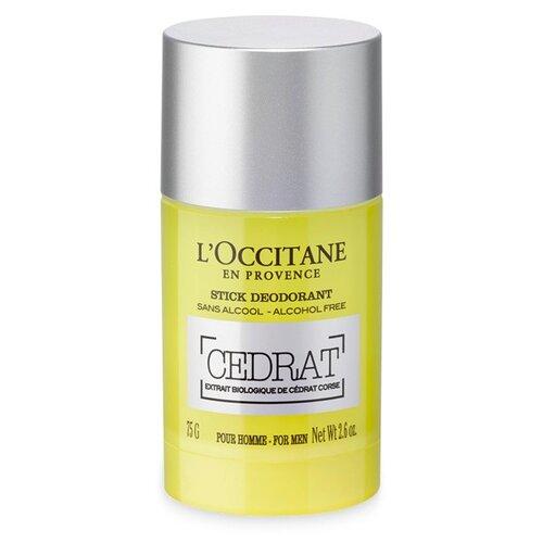 Деодорант стик L\'Occitane en Provence Cedrat, 75 г