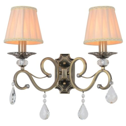 Настенный светильник Omnilux Mezzano OML-79111-02, 80 Вт настенный светильник omnilux asiago oml 85301 02 80 вт