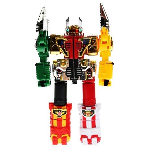 Купить Трансформер Play Smart Мастербот 6в1 8030 красный/желтый/зеленый, Роботы и трансформеры