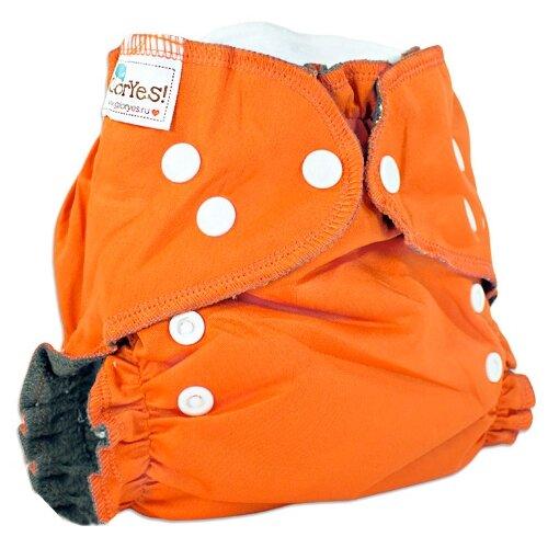 GlorYes! подгузники Optima NEW (3-18 кг) 1 шт. апельсин