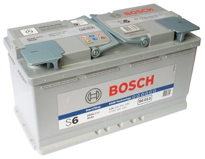 Аккумулятор Bosch S6 013 AGM (0 092 S60 130)