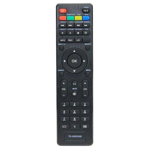 Пульт ДУ Huayu TX-24DR300 для телевизоров Panasonic TX-24DR300/TX-43DR300ZZ/TX-32DR300ZZ/TX-24DR300ZZ/TX-43DR300/TX-32DR300 черный цена 2017