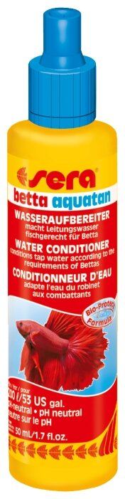 Sera Betta Aquatan средство для подготовки водопроводной воды