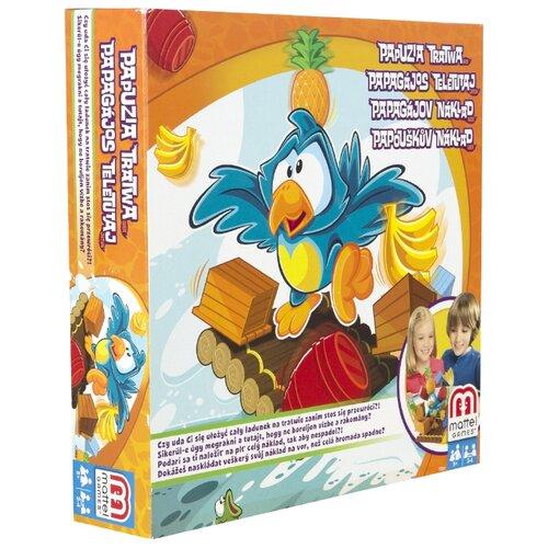 Настольная игра Mattel Попугай на плоту Y2551 игра настольная mattel games mattel games mp002xg00ogy