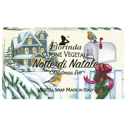 Мыло косметическое кусковое Florinda Счастливого Рождества Notte Di Natale, 100 г мыло косметическое mon platin dsm171