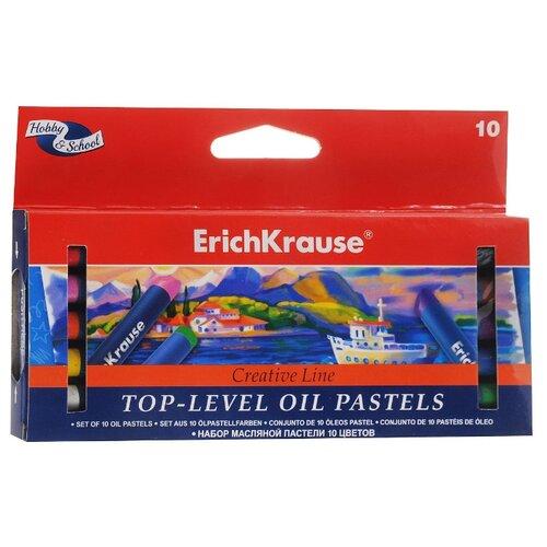 ErichKrause Пастель масляная Creative Line Top-Level 10 цветов
