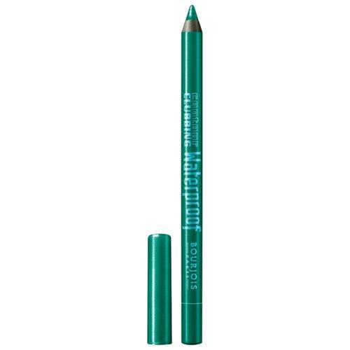 Bourjois Водостойкий карандаш для глаз Contour Clubbing Waterproof, оттенок 50 Loving Green