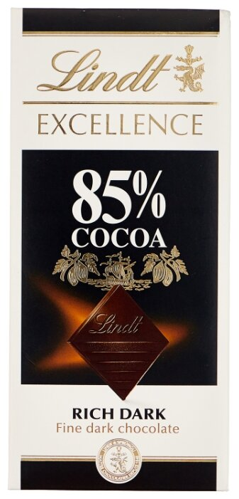 Шоколад LINDT Excellence 85% какао, 100г