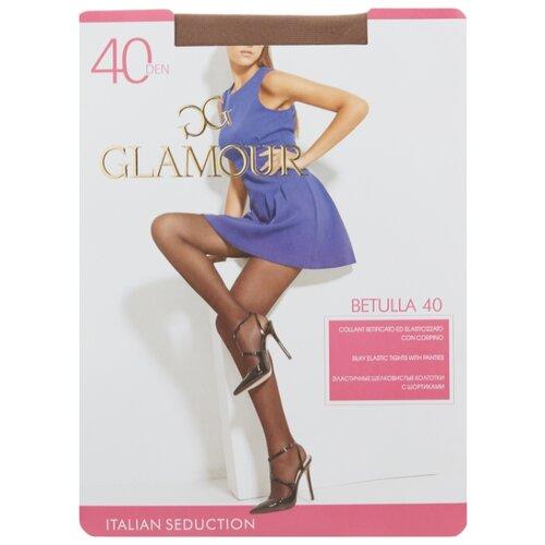 Колготки Glamour Betulla 40 den, размер 2-S, daino (коричневый) колготки glamour prestige 40 daino