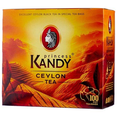Чай черный Принцесса Канди в пакетиках без ярлычков, 100 шт.