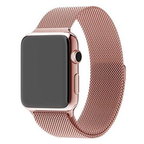 Pastila Ремешок Миланская петля для Apple Watch 38/40 мм розовый