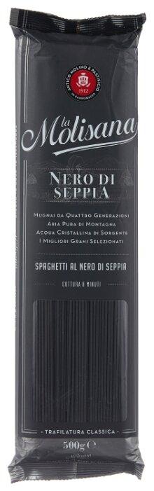 La Molisana Spa Макароны Spaghetti с чернилами каракатицы, 500 г