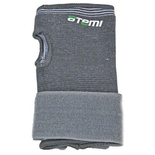 Защита запястий ATEMI широкий ANS-002, р. XL, серый защита колена atemi ans 003 р xl серый