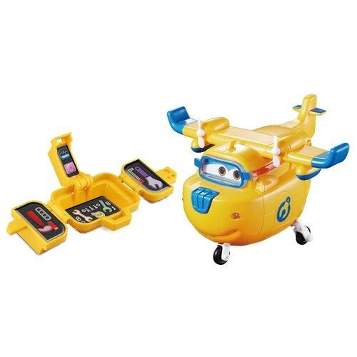 Самолет Auldey Super Wings Донни с чемоданчиком (YW710420) желтый