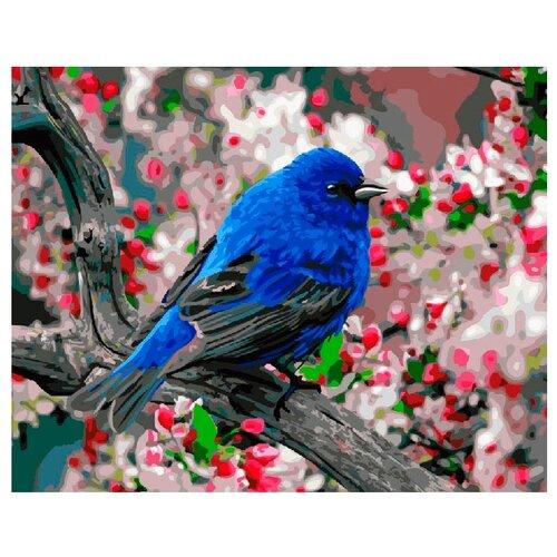 ВанГогВоМне Картина по номерам Птица в саду, 40х50 см (ZX 21364)Картины по номерам и контурам<br>
