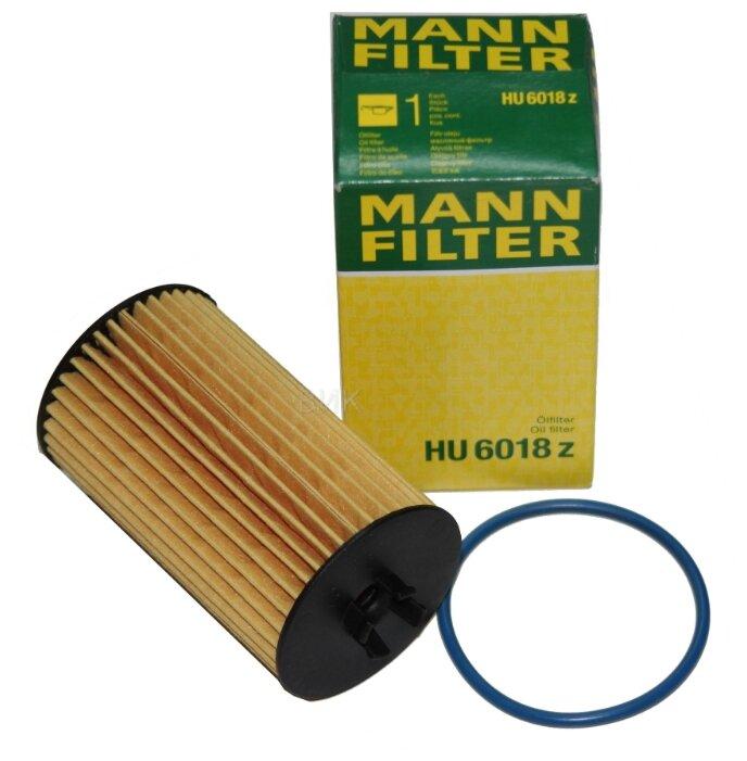 Фильтрующий элемент MANNFILTER HU6018Z