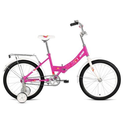 Детский велосипед ALTAIR City Kids 20 Compact (2020) фиолетовый 13 (требует финальной сборки) велосипед двухколесный altair city 20 колесо 20 рама 14 белый