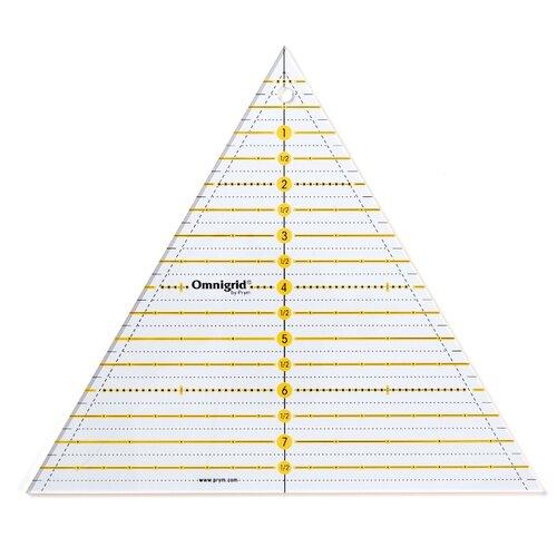 Купить Prym Линейка для пэчворка треугольник, 8 дюймов прозрачный, Инструменты и аксессуары
