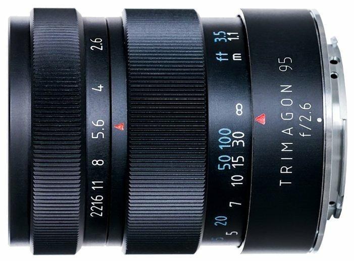Объектив Meyer-Optik-Görlitz Trimagon 95mm f/2.6 M42
