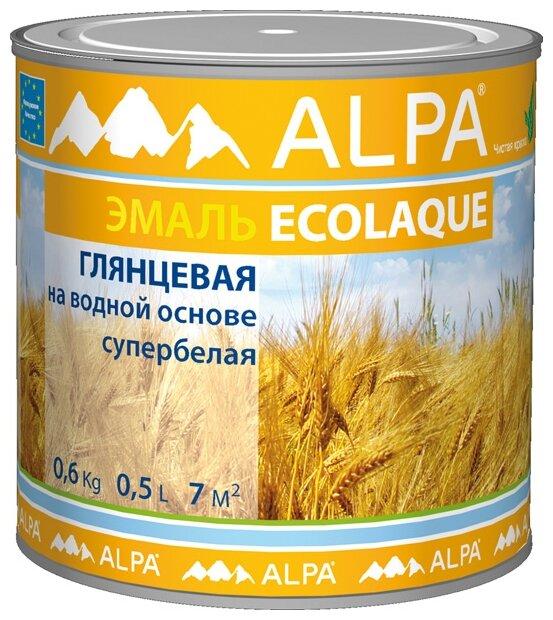 Эмаль акриловая (АК) Alpa Ecolaque
