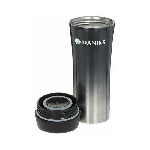 Термокружка Daniks SL-NT015, 0.45 л графит