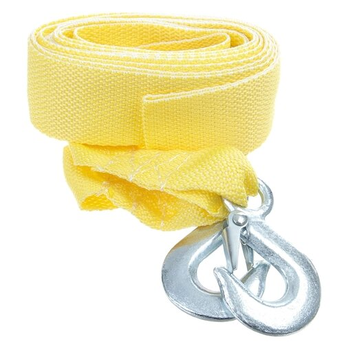 Ленточный буксировочный трос Dollex TB-255 (5 м) (2.5 т) желтый