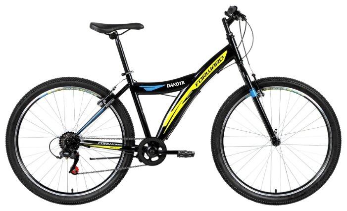 Велосипед Forward Dakota 26 1.0 red (2019) 16.5 красный\белый RBKW9MN6P002 (97 913)
