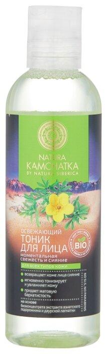 Natura Siberica Тоник освежающий Моментальная свежесть и сияние Natura Kamchatka