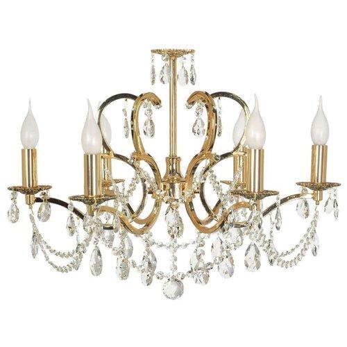 накладная люстра arti lampadari pera e 1 2 80 601 g Люстра Arti Lampadari Pisani E 1.1.6.601 G, E14, 240 Вт