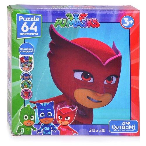 Купить Пазл Origami Герои в масках Амайя + наклейки (04046), 64 дет., Пазлы