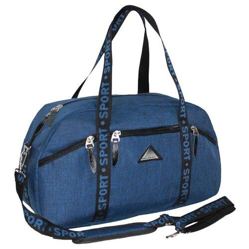 Сумка спортивная RISE м-213, синий rise рюкзак м 340 эк серый