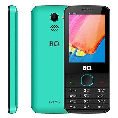 Купить Телефон BQ 2818 ART XL+ черный / зеленый