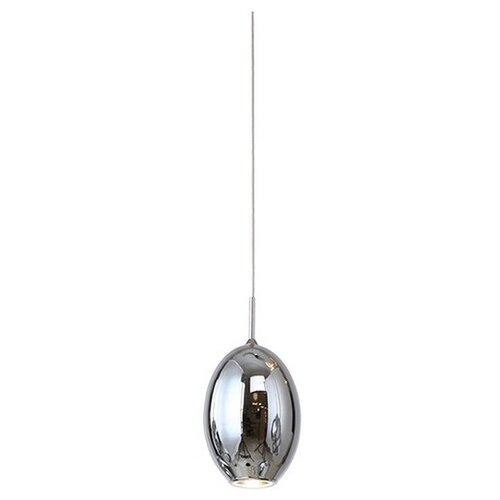 Потолочный светильник Kink light Метеорит 08028, 3 Вт, цвет арматуры: хром, цвет плафона: серый