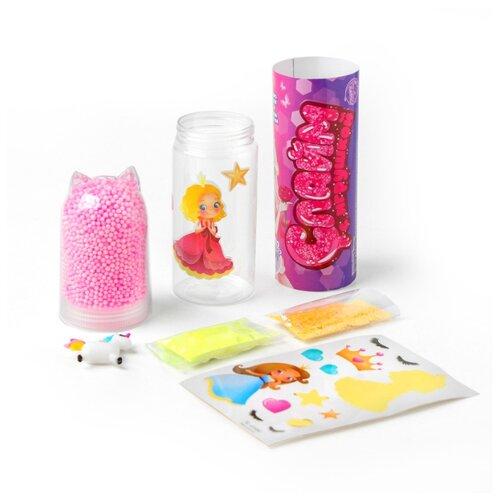 Купить ШКОЛА ТАЛАНТОВ Набор для творчества Слайм с игрушкой Принцесса красавица 4695645, Школа талантов, Изготовление свечей