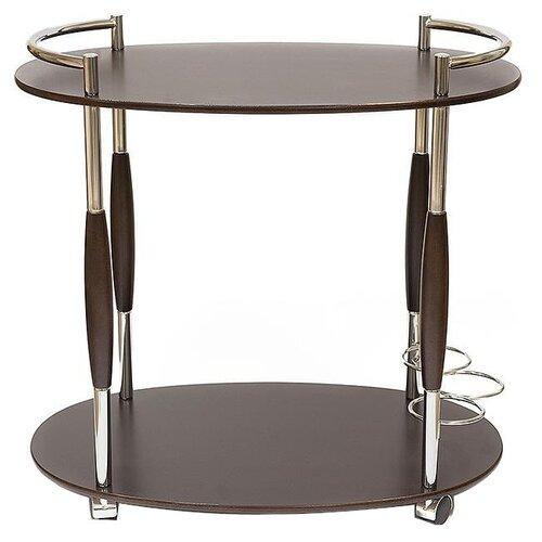 Столик сервировочный TetChair SC-5037-W, ДхШ: 70 х 47 см, орех