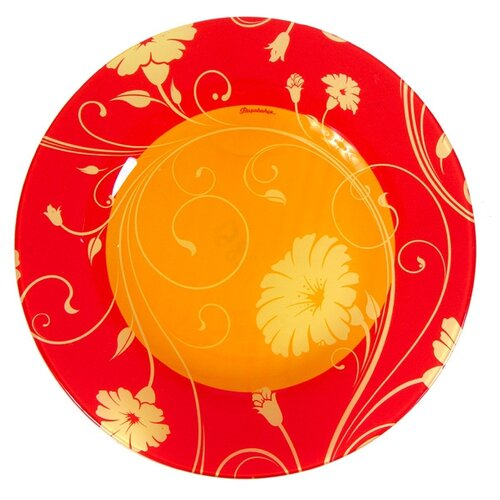 Pasabahce Тарелка обеденная Serenade 26 см orange