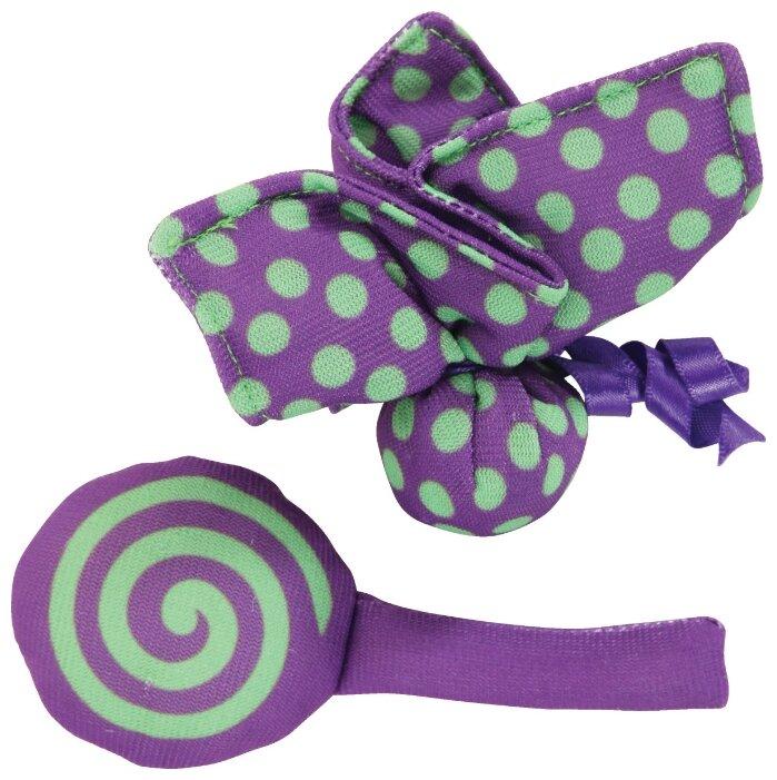Игрушка для кошек ZOLUX бабочка и конфета (580117VIO)