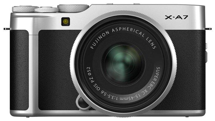 Фотоаппарат Fujifilm X-A7 kit XC15-45mm F3.5-5.6 коричневый