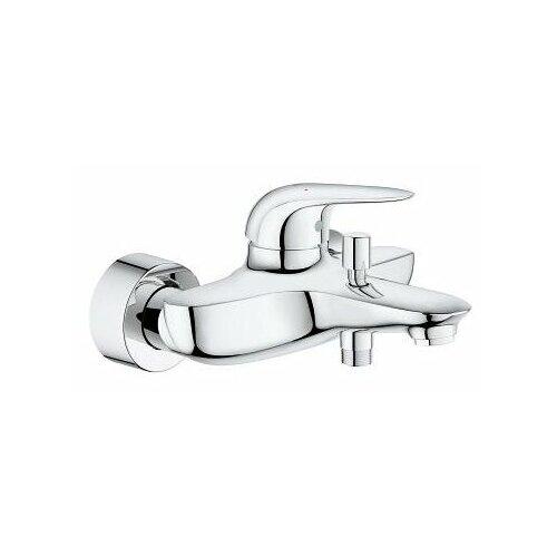 Смеситель для ванны с подключением душа Grohe Eurostyle 23726003 однорычажный смеситель для ванны с подключением душа grohe bauclassic 32865000 однорычажный