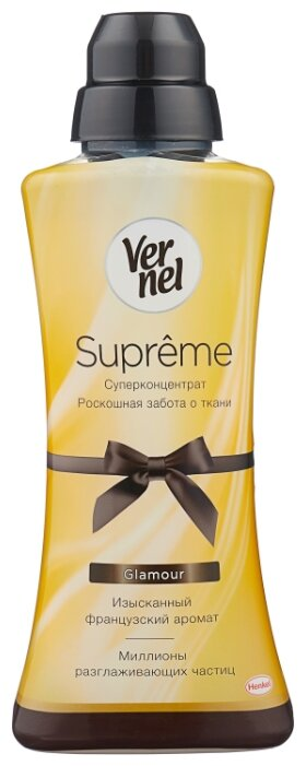 Vernel Концентрированный кондиционер для белья Supreme Glamour — купить по выгодной цене на Яндекс.Маркете