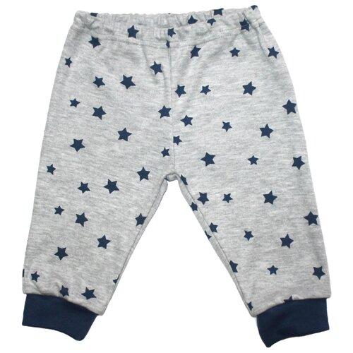 Купить Брюки Веселый Малыш размер 86, серый, Брюки и шорты
