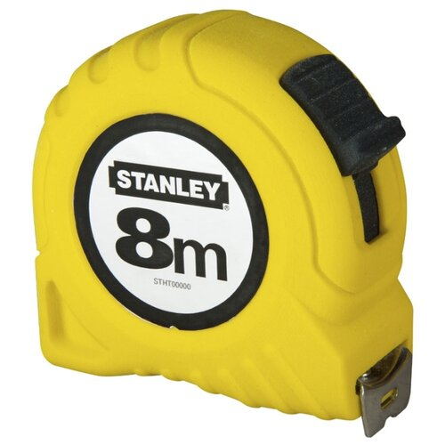 Измерительная рулетка STANLEY Global Tape 1-30-457 25 мм x 8 м шнур меловой разметочный stanley 30 м